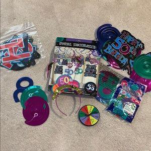 Other - Happy 50th Birthday 🎁 Decorations Bundle
